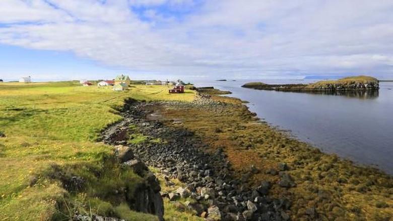 Flatey Island, pulau terbaik dunia saat ini. (Foto: iStock)