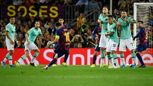 Barcelona akan melawan Inter di laga terakhir Grup F.