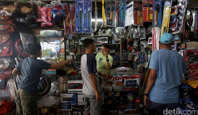 Pasar Onderdil Mobil di Palmerah Kembali Bergeliat Pascarusuh