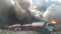 Cerita Saksi Mata Kebakaran di Pabrik Plastik di Mojokerto