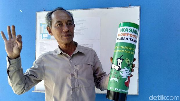 Pasar Ciwastra Bandung Jadi Percontohan Pengolahan Sampah Organik