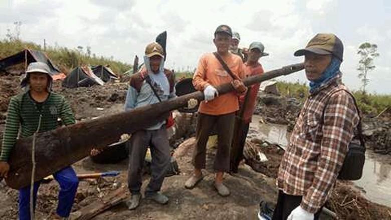 Lokasi Penemuan Harta Karun Sriwijaya Akan Dijadikan Cagar Budaya