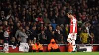 Mesut Oezil Terdepak dari Skuad Arsenal di Liga Inggris