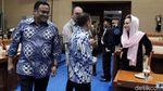 Para Pimpinan DPR Hadiri Rapat Pembagian Ruang Kerja