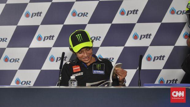 Valentino Rossi kesulitan tampil cepat di Thailand dan Jepang.