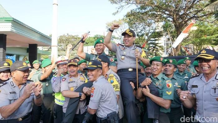 HUT Ke-74 TNI di Malang/Foto: Muhammad Aminudin