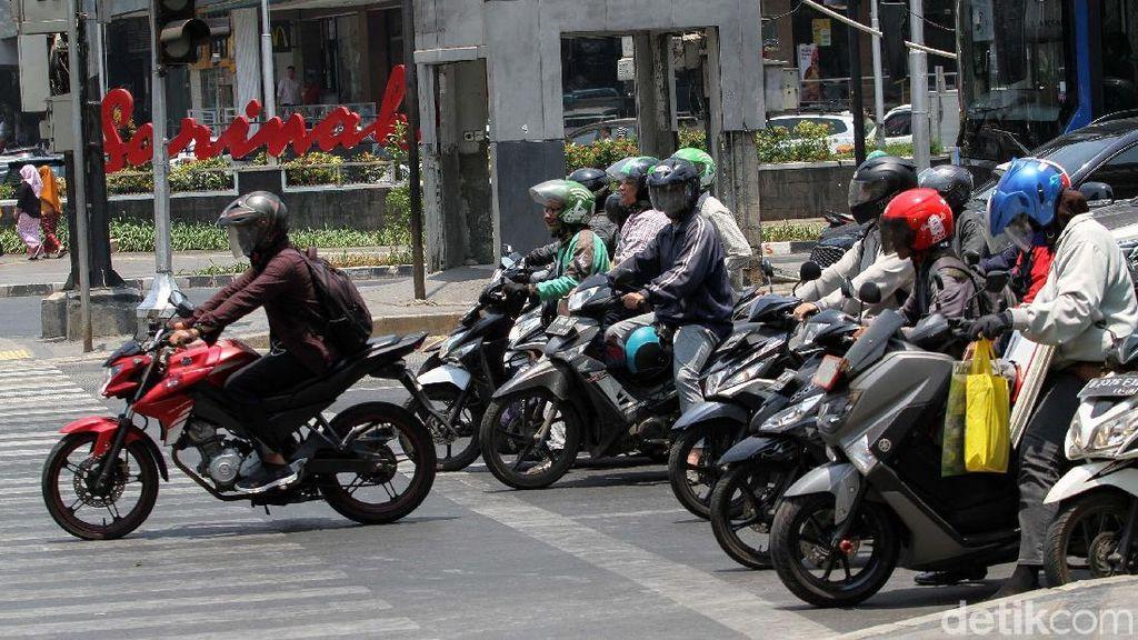 Siap-siap! E-TLE Diberlakukan Bagi Motor di Sudirman-Thamrin Mulai Februari