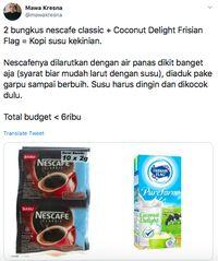Netizen Ramai Bagikan Resep Es Kopi Susu Kekinian yang Murah Meriah