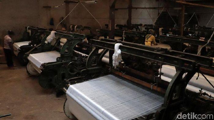 Ilustrasi Industri Tekstil Foto: Rico Bagus