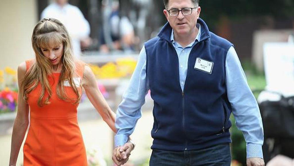 Susan Dell menjadi istri Michael Dell, founder dan CEO of Dell computers yang berada di urutan pria terkaya ke-25 di dunia. Foto: Getty Images