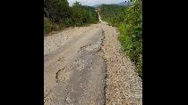 Jalan Perbatasan RI-Malaysia di Kapuas Hulu Kalbar Rusak Parah