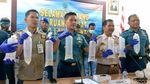 Ini Pelaku Penyelundupan 118 Ribu Baby Lobster yang digagalkan TNI AL
