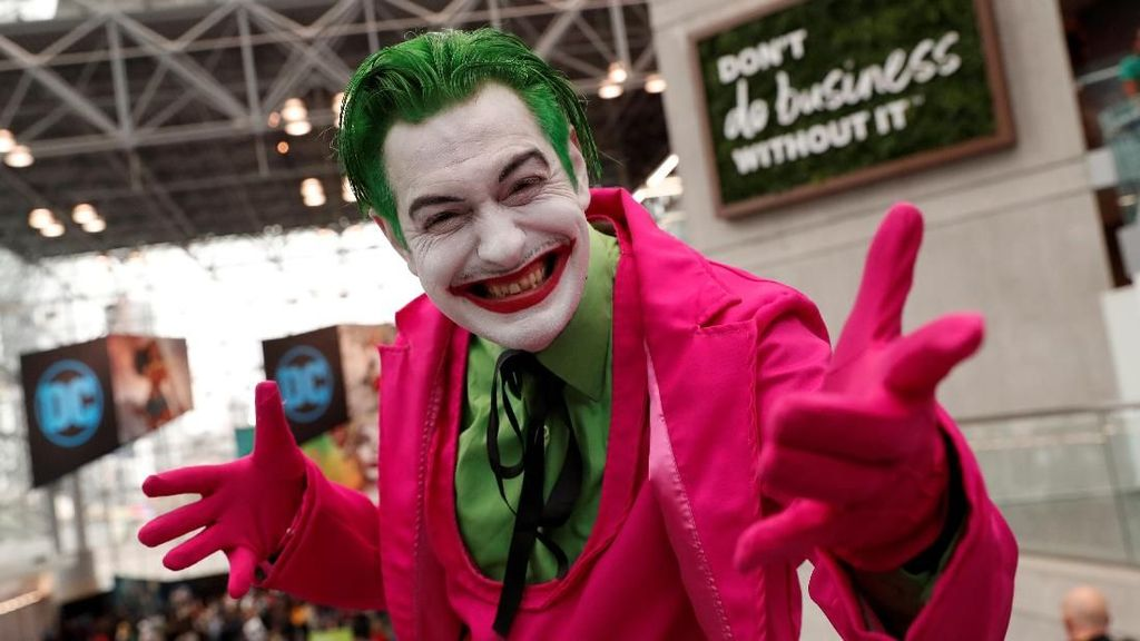 Joker hingga Spiderman Ramaikan Comic Con 2019 di Kota New York
