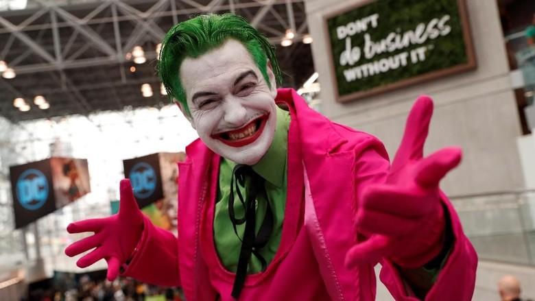 Joker hingga Spiderman Ramaikan Comic Con 2019 di Kota New York