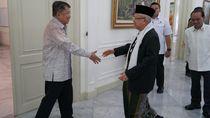 Maruf Amin ke Istana Wapres, Salat Jumat-Makan Bareng JK