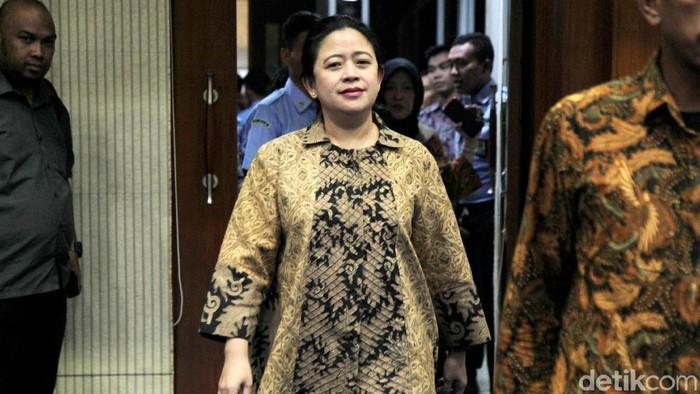 Ketua DPR Puan Maharani (Lamhot Aritonang/detikcom)