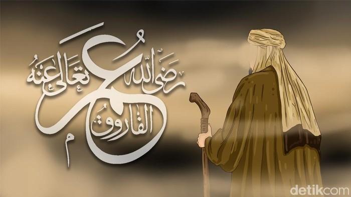 Ilustrasi Umar bin Khattab