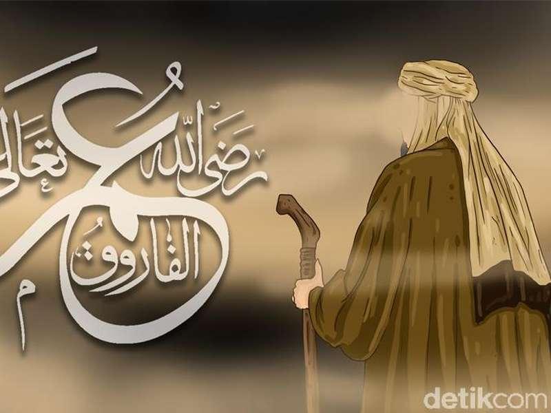 3 Pesan Umar bin Khattab di Pidato Pertama Jadi Khalifah