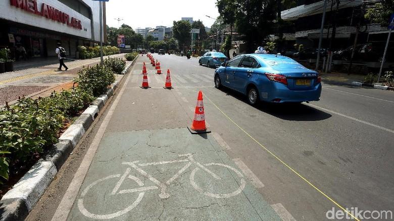 Jalur Sepeda di DKI Belum Steril, Polisi Siap Tindak Pelanggar