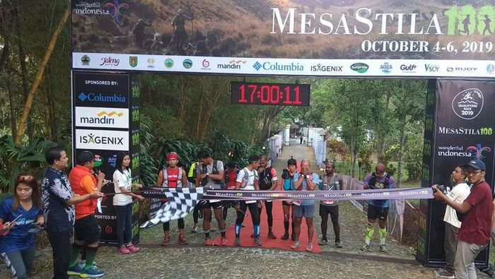 Lomba lari lintas alam MesaStila 2019 telah digelar. Foto: Eko Susanto