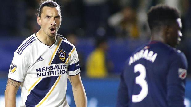 Zlatan Ibrahimovic tidak memperpanjang kontrak dengan LA Galaxy.