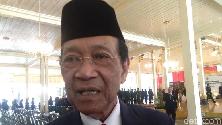 Kata Sultan Soal Mahfud Belum Mundur dari Parampara Praja DIY