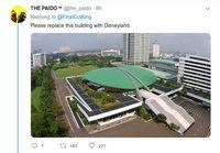 Zach King Jalan-jalan di Jakarta, Netizen: Hilangkan Gedung DPR