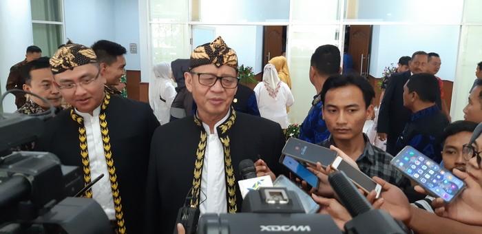 Gubernur Banten Wahidin Halim (Foto: Bahtiar Rivai/detikcom)