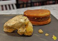 Dessert Khusus Orang Kaya! Durian Musang King Berbalut Emas