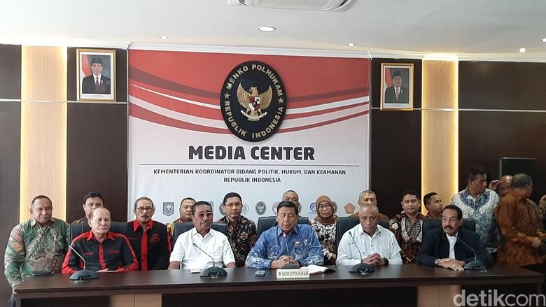 Wiranto: KKB Dapat Instruksi Benny Wenda Serang Pendatang di Wamena