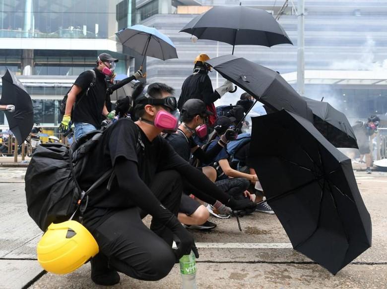 Demonstran Hong Kong Dilarang Pakai Masker, Dibui 1 Tahun Jika Melanggar