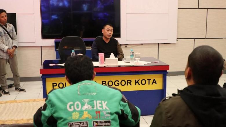 Dihukum! Polantas yang Tendang Ojol di Bogor Dimutasi