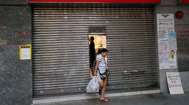 Gawat, Hong Kong Sudah Susah Keluar dari Ancamanan Resesi