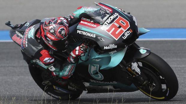 Fabio Quartararo  jadi musuh utama Marc Marquez di beberapa seri MotoGP 2019.
