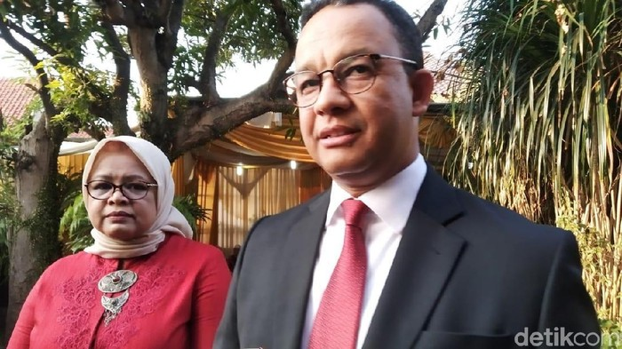 Gubernur DKI Jakarta Anies Baswedan. (Wilda/detikcom)