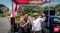 Orator terus menyuarakan dukungan kepada Jokowi-Ma'ruf dan menentang pihak-pihak yang berupaya menggagalkan pelantikan presiden-wakil presiden 20 Oktober mendatang