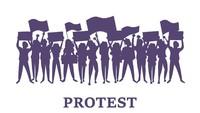 Demo Dugaan Korupsi Damkar di Balai Kota Depok Dibubarkan Satpol PP