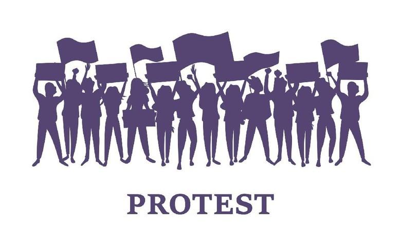 Demonstrasi di Hong Kong dan Indonesia