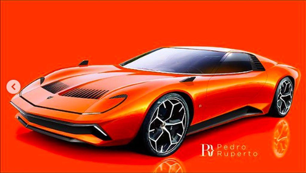 Saat Lamborghini Miura Jadi Mobil Masa Kini