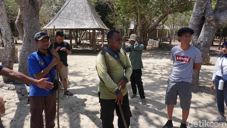 Ranger di Pulau Komodo (Ahmad Masaul Khoiri/detikcom)
