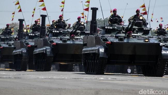 Alutsista TNI Foto: Rifkianto Nugroho