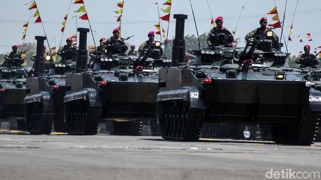 Tank BMP-3F Foto: Rifkianto Nugroho