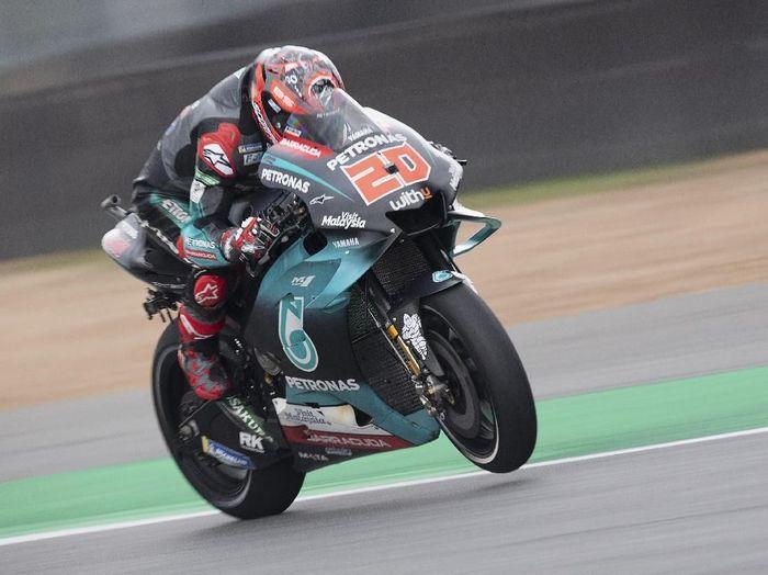 Pebalap Yamaha Petronas SRT, Fabio Quartararo. (Foto: Mirco Lazzari gp/Getty Images)