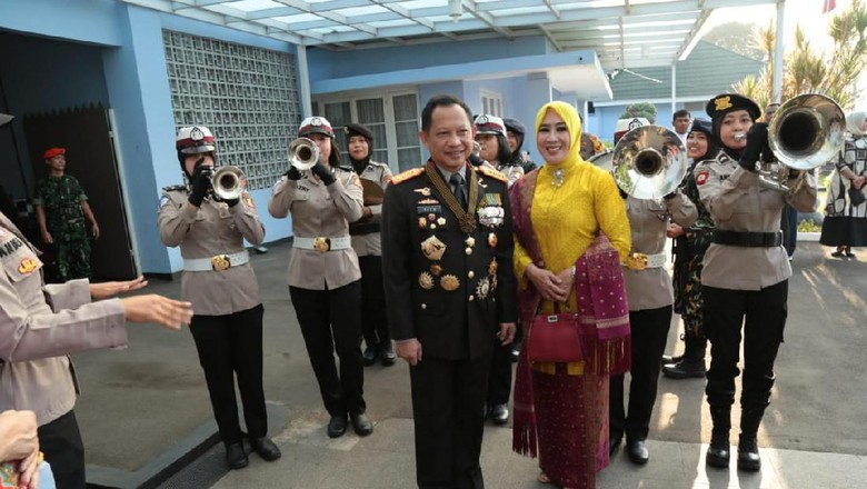 Kejutan Jenderal Polri untuk Panglima TNI dan 3 Kepala Staf
