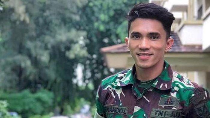 Fernando Lumain harus bangun lebih pagi saat menjadi anggota TNI AU. (dok. pribadi)