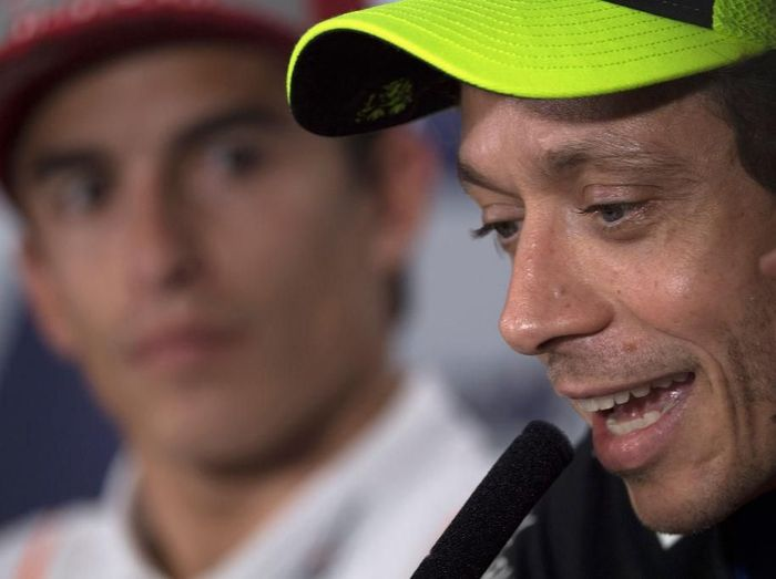 Valentino Rossi menilai dominasi Marc Marquez mirip dengan kiprahnya saat muda dulu. (Foto: Mirco Lazzari gp/Getty Images)