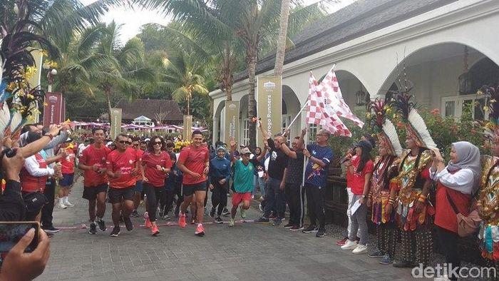 Borobudur Marathon digelar 17 November 2019. (Foto: Eko Susanto/detikSport)