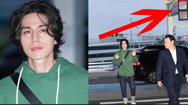 Gara-gara Nyebrang Jalan saat Lampu Merah, Lee Dong Wook Dihujat