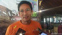 Sandiaga Jawab Isu Jadi Menteri Investasi Kabinet Jokowi