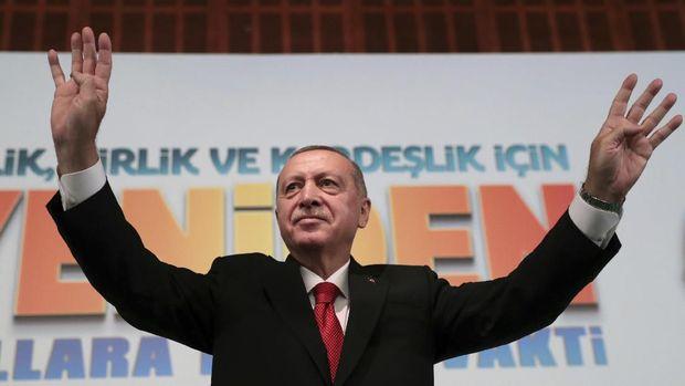 Presiden Turki Recep Tayyip Erdogam. (